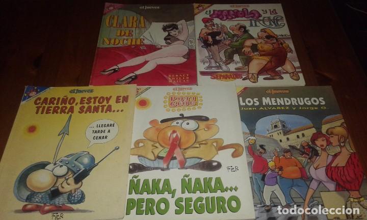 REVISTAS EL JUEVES (Tebeos y Comics - Comics Pequeños Lotes de Conjunto)