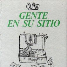 Cómics: QUINO : GENTE EN SU SITIO (LUMEN, 1978) PRIMERA EDICIÓN. Lote 67410569