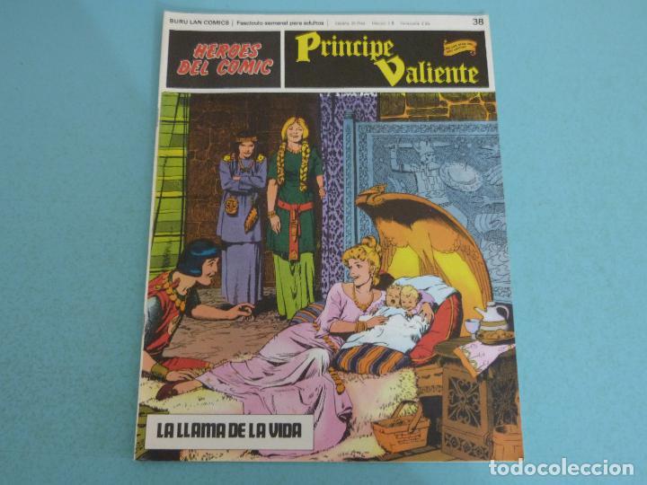 COMIC DE PRINCIPE VALIENTE LA LLAMA DE LA VIDA AÑO 1972 Nº 38 DE BURU LAN COMICS LOTE 26 D (Tebeos y Comics - Buru-Lan - Principe Valiente)
