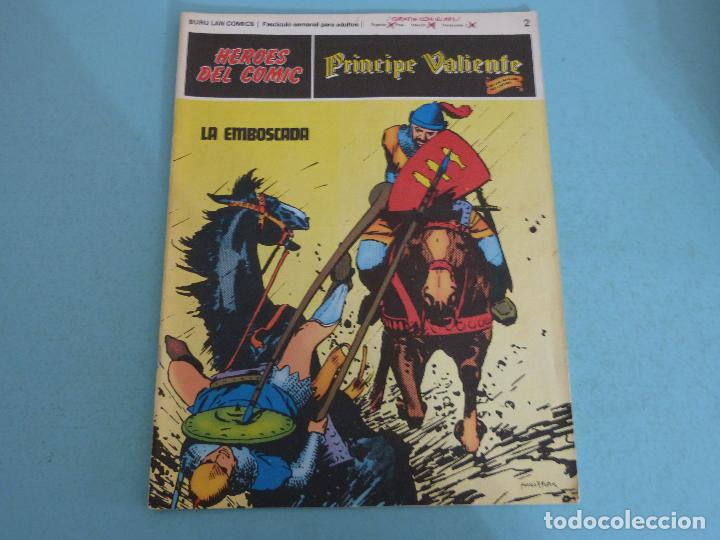 COMIC DE PRINCIPE VALIENTE LA EMBOSCADA AÑO 1972 Nº 2 DE BURU LAN COMICS LOTE 26 D (Tebeos y Comics - Buru-Lan - Principe Valiente)