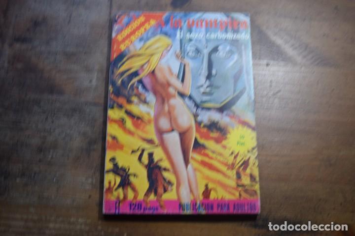ZARA LA VAMPIRA Nº 26, EL SEXO CARBONIZADO, ELVIBERIA, 1976 (Tebeos y Comics - Comics otras Editoriales Actuales)