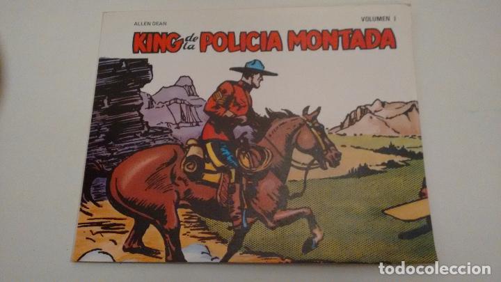 COLECCION COMPLETA DE 1 NUMERO. KING DE LA POLICIA MONTADA. BO 1982. ALLEN DEAN. IMPECABLE (Tebeos y Comics - Comics Pequeños Lotes de Conjunto)