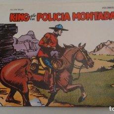 Cómics: COLECCION COMPLETA DE 1 NUMERO. KING DE LA POLICIA MONTADA. BO 1982. ALLEN DEAN. IMPECABLE. Lote 67877293