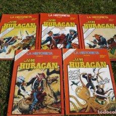 Cómics: JIM HURACÁN. SOTILLOS & BUXADÉ. EDICIONES URSUS, COMPLETA, CINCO NÚMEROS.. Lote 85971554