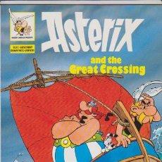Cómics: ASTERIX AND THE GREAT CROSSING - EDICIONES DEL PRADO / INGLES. Lote 67946593