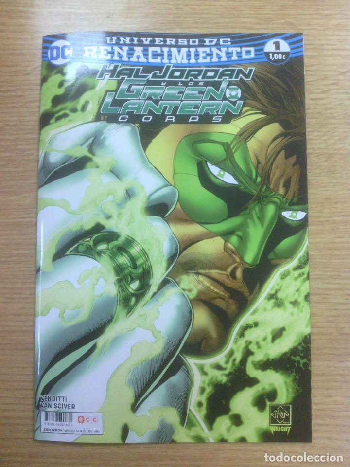 GREEN LANTERN #56 - RENACIMIENTO #1 (ECC EDICIONES) (Tebeos y Comics - Comics otras Editoriales Actuales)