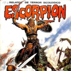 Cómics: ESCORPION NUMERO 45 RELATOS DE TERROR SICOLOGICO - VILMAR. Lote 68041481