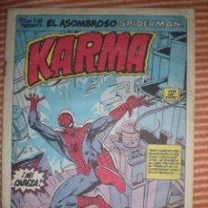 Cómics: ANTIGUO COMIC DE SPIDERMAN STAN LEE EN ESPAÑOL MARVELMANIA AÑO 1983 BUEN ESTADO. Lote 68172929