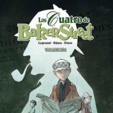 Cómics: CÓMICS. LOS CUATRO DE BAKER STREET 02 - LEGRAN Y JEAN- BLAISE DJIAN/DAVID ETIEN (CARTONÉ). Lote 68300869