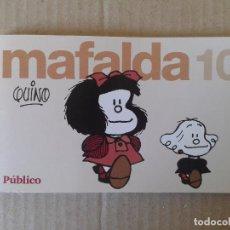 """Cómics: MAFALDA Nº10, DE QUINO. COLECCIÓN DE TIRAS PUBLICADAS POR EL DIARIO """"PÚBLICO"""" (2008).. Lote 68301173"""