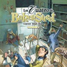 Cómics: CÓMICS. LOS CUATRO DE BAKER STREET 03 - LEGRAN Y JEAN- BLAISE DJIAN/DAVID ETIEN (CARTONÉ). Lote 68301413