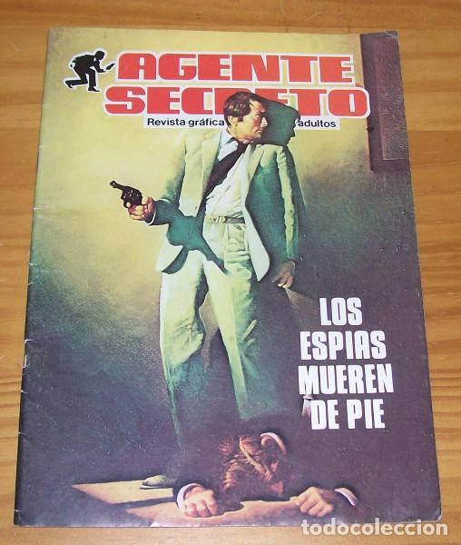 AGENTE SECRETO 2 LOS ESPIAS MUEREN DE PIE. PRODUCCIONES EDITORIALES 1982 (Tebeos y Comics - Comics otras Editoriales Actuales)