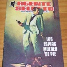 Cómics: AGENTE SECRETO 2 LOS ESPIAS MUEREN DE PIE. PRODUCCIONES EDITORIALES 1982. Lote 68536237