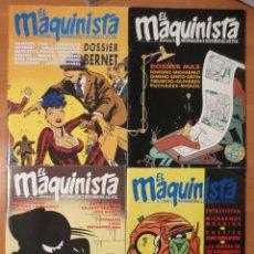 Cómics: EL MAQUINISTA. Lote 68763613