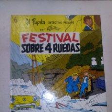 Cómics: GIL PUPILA- Nº 6- FESTIVAL SOBRE 4 RUEDAS - GRAN M. TILLEUX- ED. CASALS-1991- BUENO-5907. Lote 69000709