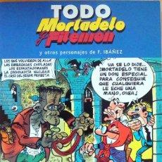 Cómics: TODO MORTADELO Y FILEMON Nº 28. FRANCISCO IBAÑEZ. EDICIONES B, 1ª EDICION 2005. Lote 69108145