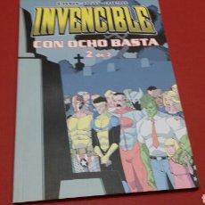 Cómics: INVENCIBLES CON OCHO BASTA N°2 EXCELENTE ESTADO. Lote 69476137