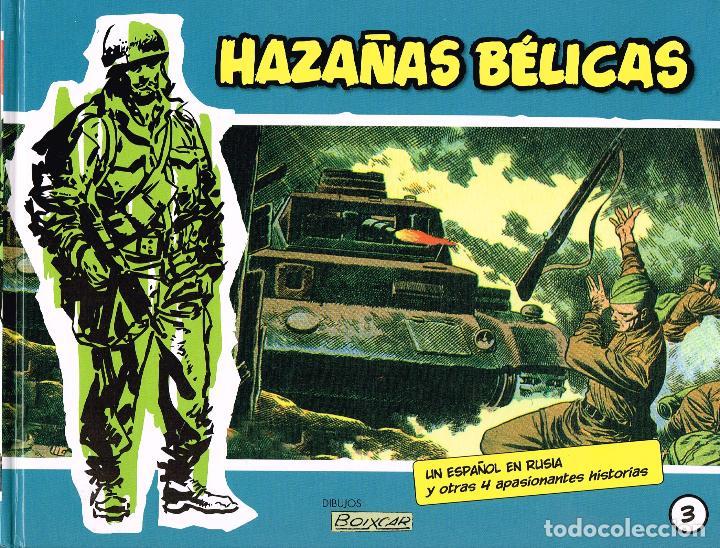 HAZAÑAS BÉLICAS,VOLÚMEN 3.PLANETA DE AGOSTINI (Tebeos y Comics Pendientes de Clasificar)