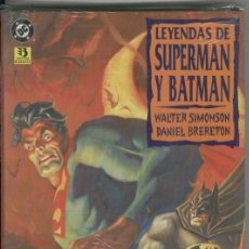 Cómics: SUPERMAN ESPECIAL: LEYENDAS DE SUPERMAN Y BATMAN, COLECCION. Lote 69502687