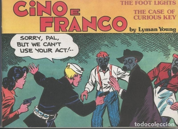 Cino E Franco The Foot Lights Buy Old Comics And Tebeos At