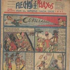 Cómics: FLECHAS Y PELAYOS NUMERO 120 DEL 23.MARZO.1941. Lote 69608582