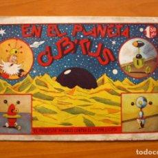 Cómics: EL PROFESOR MAGNUS CONTRA EL DOCTOR CICUTA - Nº 8 EN EL PLANETA CUBITUS - EDICIONES PROA 1944. Lote 69612121