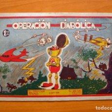 Cómics: EL PROFESOR MAGNUS CONTRA EL DOCTOR CICUTA - Nº 10 Y ÚLTIMO - EDICIONES PROA 1944. Lote 69612209
