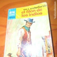 Cómics: EL FILON DE LOS INDIOS - M.L. ESTEFANIA - MINI LIBROS BRUGUERA 651 - PULP. Lote 69613249