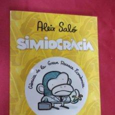 Cómics: SIMIOCRÀCIA · CRÒNICA DE LA GRAN RESACA ECONÒMICA. ALEIX SALO. RANDOM HOUSE MONDADORI. DEBOLSILLO. Lote 69645845