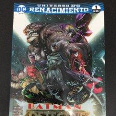 Cómics: BATMAN: DETECTIVE CÓMICS 1 UNIVERSO DC RENACIMIENTO - ECC. Lote 69993177