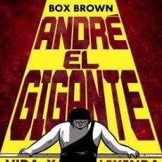 Cómics: ANDRÉ EL GIGANTE. VIDA Y LEYENDA - BOXBROWN - ED. ASTIBERRI 2015. Lote 70217441