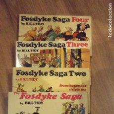 Cómics: THE FOSDYKE SAGA. BILL TIDY, 1 AL 4 INGLÉS. Lote 70470033