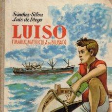 Cómics: LUISO,(MARIA,MATRICULA DE BILBAO),ORIGINAL,EDITORIAL DONCEL.. Lote 70587333