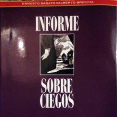 Cómics: INFORME SOBRE CIEGOS DE ERNESTO SÁBATO Y ALBERTO BRECCIA.. Lote 71088813