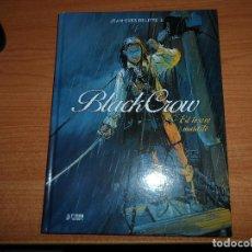 Cómics: BLACK CROW 01. EL TESORO MALDITO - JEAN-YVES DELITTE TAPA DURA YERMO EDICIONES . Lote 71128453