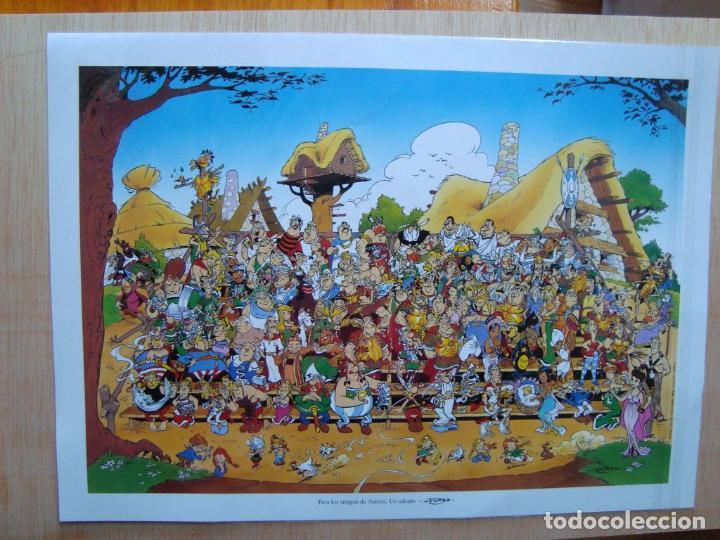 astérix cartel poster lámina 41x30 uderzo; nuev - Comprar Tebeos y ...