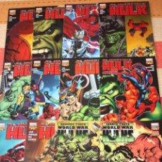 Comics: EL INCREÍBLE HULK VOL.1 :DEL Nº 01 AL Nº 31- COMPLETA- ( 15% DESCUENTO)-EXCELENTE-. Lote 71840375