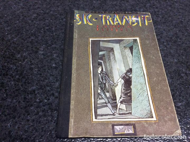 SIC TRANSIT O LA MUERTE DE OLIVARES / JAVIER DE JUAN (Tebeos y Comics - Comics otras Editoriales Actuales)