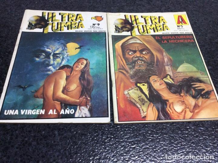 ULTRA TUMBA , LOTE DE 2 EJEMPLARES, COMIC PARA ADULTOS (Tebeos y Comics - Comics otras Editoriales Actuales)