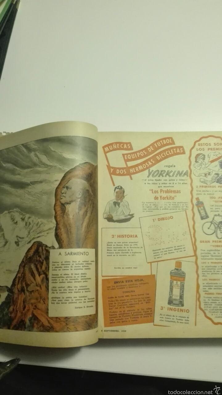 Cómics: libro de tapa dura con 16 revistas del nº1503 al nº1519 billiken 1948 - Foto 2 - 72174351