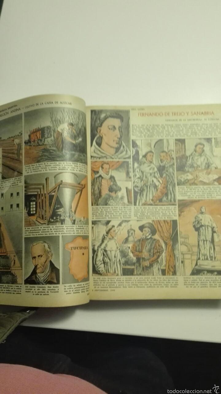 Cómics: libro de tapa dura con 16 revistas del nº1503 al nº1519 billiken 1948 - Foto 4 - 72174351
