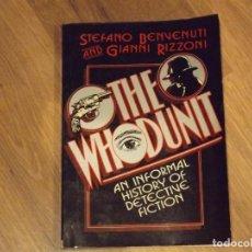 Cómics: THE WHODUNIT: AN INFORMAL HISTORY OF DETECTIVE FICTION. INGLÉS. Lote 72316863