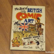 Cómics: THE BEST OF BRITISH COMIC ART . ALAN CLARK. Lote 72317903