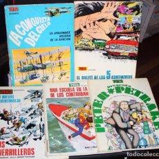 Cómics: TRINCA :TOMOS TAPA DURA Nº 4,6,10 Y 11 ( DE LOS MAS DIFICILES ).. Lote 72497155