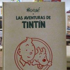 Cómics: COLECCION COMPLETA LAS AVENTURAS DE TINTIN 7 TOMOS - EDICION DE LUJO - HERGE - JUVENTUD. Lote 73076875