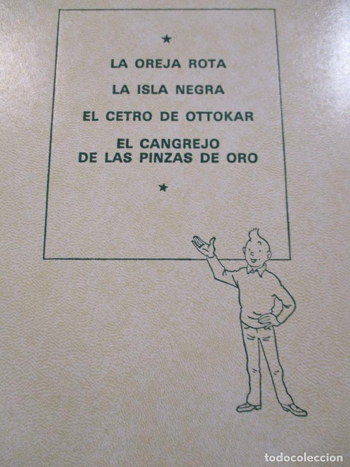 Cómics: COLECCION COMPLETA LAS AVENTURAS DE TINTIN 7 TOMOS - EDICION DE LUJO - HERGE - JUVENTUD - Foto 9 - 73076875