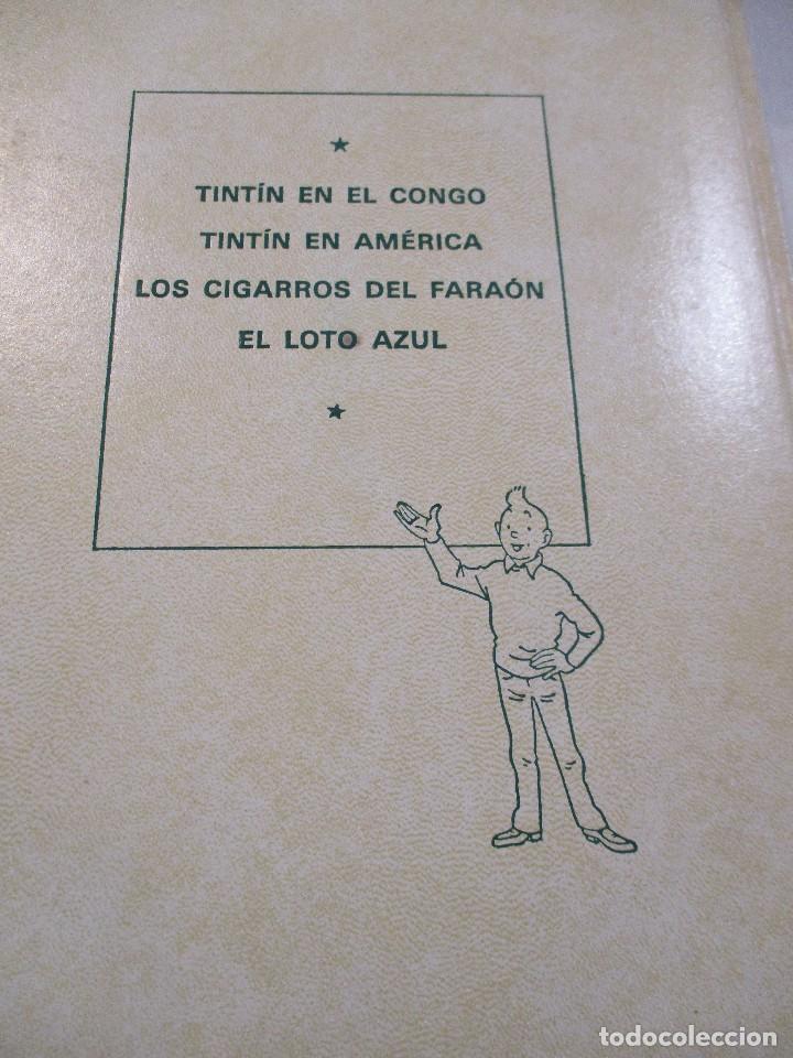 Cómics: COLECCION COMPLETA LAS AVENTURAS DE TINTIN 7 TOMOS - EDICION DE LUJO - HERGE - JUVENTUD - Foto 10 - 73076875