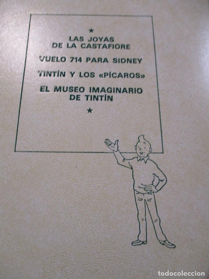 Cómics: COLECCION COMPLETA LAS AVENTURAS DE TINTIN 7 TOMOS - EDICION DE LUJO - HERGE - JUVENTUD - Foto 12 - 73076875