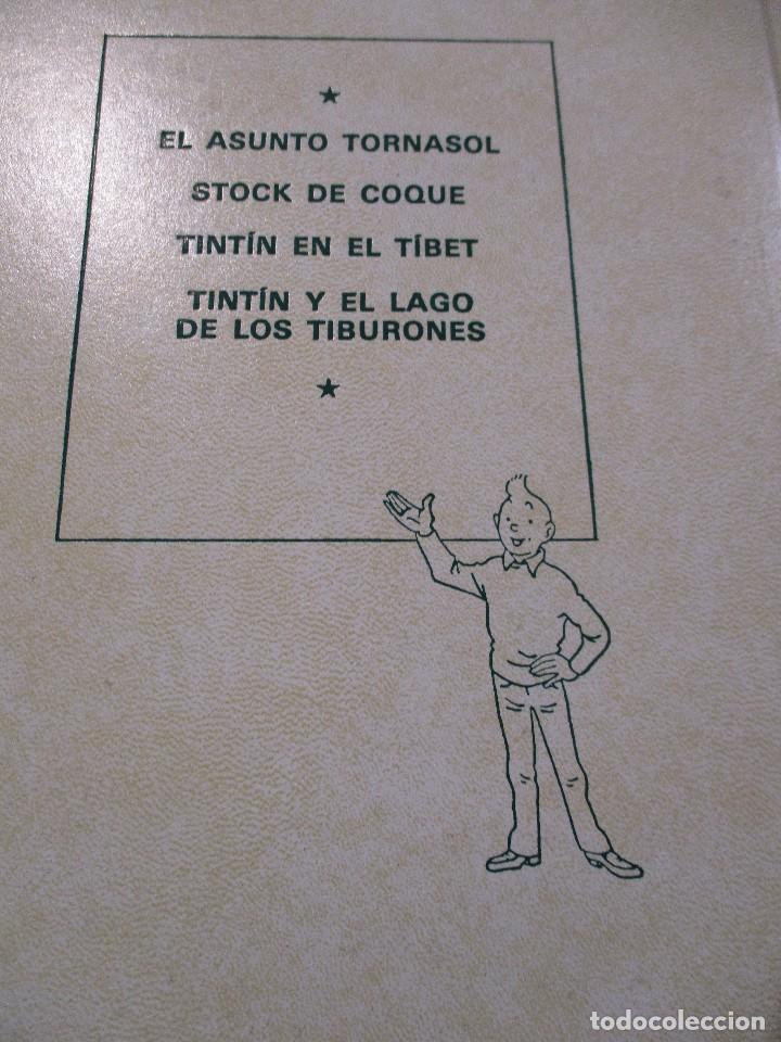 Cómics: COLECCION COMPLETA LAS AVENTURAS DE TINTIN 7 TOMOS - EDICION DE LUJO - HERGE - JUVENTUD - Foto 13 - 73076875