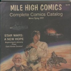 Cómics: MILE HIGH COMICS COMPLETE COMICS CATALOG WINTER/SPRING 1997. Lote 73531063